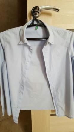 Рубашка для мальчика BENETTON. Харьков. фото 1