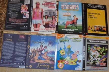 ДВД диски с комедиями(б/у, отл. сост., в боксах, с цветной полиграфией, лицензио. Сумы, Сумская область. фото 7