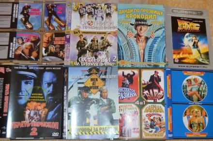 ДВД диски с комедиями(б/у, отл. сост., в боксах, с цветной полиграфией, лицензио. Сумы, Сумская область. фото 9