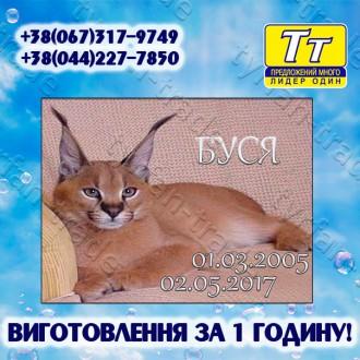 *Детальная информация и онлайн конструктор табличек на нашем официальном сайте: . Киев, Киевская область. фото 9