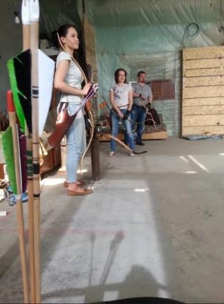 Лучный тир Зверобой - стрелковый клуб, в котором можно весело,неординарно и акт. Запорожье, Запорожская область. фото 3