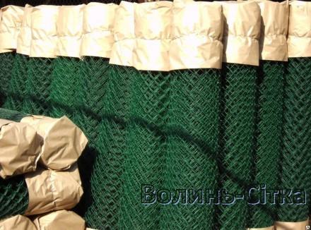 Пропонуємо виготовлення сітки Рабиця дроту оцинкованого або в ПВХ плівці під зам. Луцк, Волынская область. фото 4