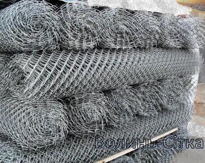 Пропонуємо виготовлення сітки Рабиця дроту оцинкованого або в ПВХ плівці під зам. Луцк, Волынская область. фото 2