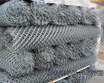 Пропонуємо виготовлення сітки Рабиця дроту оцинкованого або в ПВХ плівці під зам. Луцк, Волынская область. фото 1