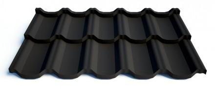 Металлочерепица – это тонкий лист металла, из которого методом холодной штамповк. Славянск, Донецкая область. фото 10