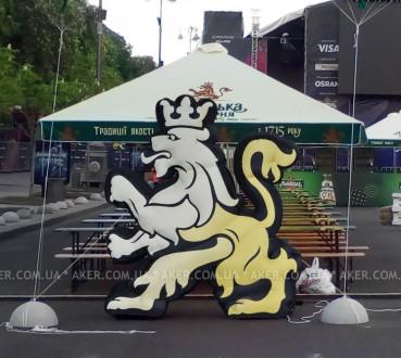 Наша компания специализируется на украинском рынке по изготовлению надувных фигу. Киев, Киевская область. фото 4