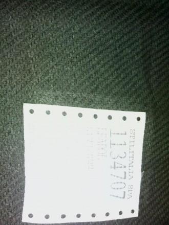 1.Ткань полушерсть (костюмно-пальтовая деми), цвет коричнево-болотный., по лицу . Чернигов, Черниговская область. фото 4