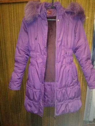 Зимнее пальто (пуховик). Купянск. фото 1