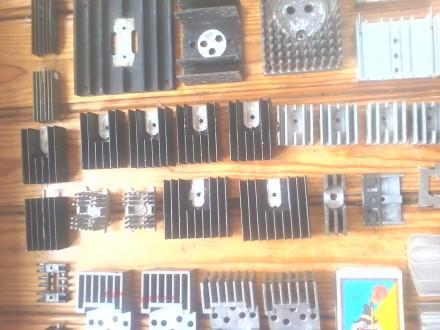 44 шт. радиаторов для транзисторов, диодов и выпрямительных мостов, б/у в отличн. Белая Церковь, Киевская область. фото 7