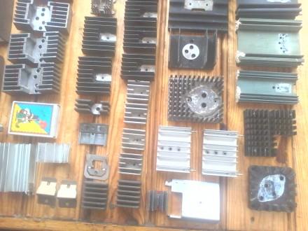 44 шт. радиаторов для транзисторов, диодов и выпрямительных мостов, б/у в отличн. Белая Церковь, Киевская область. фото 8