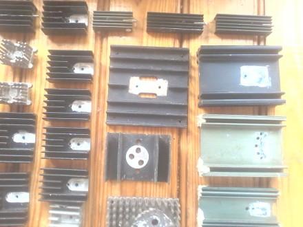 44 шт. радиаторов для транзисторов, диодов и выпрямительных мостов, б/у в отличн. Белая Церковь, Киевская область. фото 6