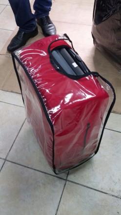 прозрачный чехол на чемодан. Одесса. фото 1