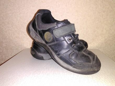 Кроссовки детские кожаные. Полтава. фото 1