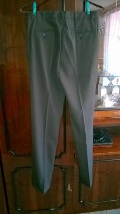Продам новые качественные брюки подростковые. ПО в поясе 38 см (есть утяжка), ПО. Боровая, Харьковская область. фото 3