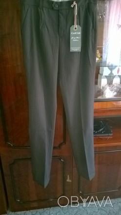 Продам новые качественные брюки подростковые. ПО в поясе 38 см (есть утяжка), ПО. Боровая, Харьковская область. фото 1