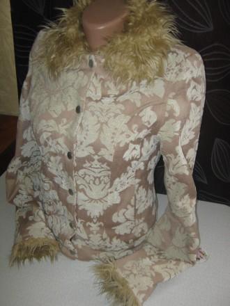 Куртка для девочки демисезонная на легком синтепоне. Кременчуг. фото 1