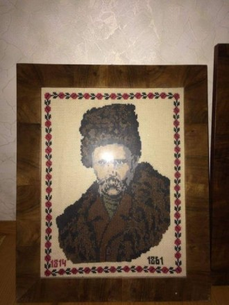Портрет Шевченка. Львов. фото 1