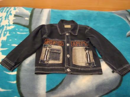 Джинсова курточка і штани на хлопчика 3-6 років, абсолютно нові.. Червоноград. фото 1