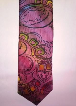 Новый оригинальный мужской галстук.. Киев. фото 1