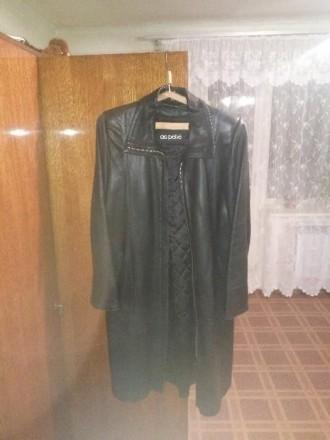 Продам женский кожаный плащ (Турция, кожа натуральная). Харьков. фото 1