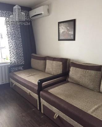 Сдам 1-комнатную квартиру с евроремонтом в Лузановке до июля. Современная, 2 див. Поселок Котовского, Одесса, Одесская область. фото 4