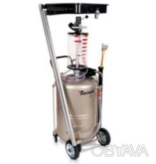 Комбинированная установка с предкамерой для слива и вакуумного отбора масла