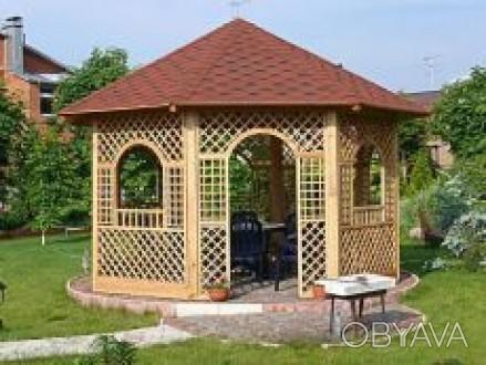 http://woodstore.com.ua/  Размер: 3 х 3 м Возможны изменения размеров и констру. Одесса, Одесская область. фото 1
