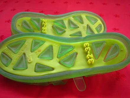 Фирменные босоножки для девочек,Италия,р.32-33,в отличном состоянии.Цвет-зелёный. Пирятин, Полтавская область. фото 5