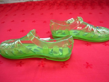 Фирменные босоножки для девочек,Италия,р.32-33,в отличном состоянии.Цвет-зелёный. Пирятин, Полтавская область. фото 4