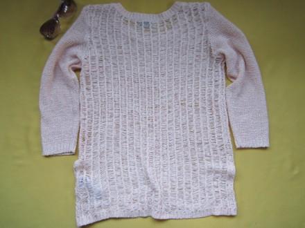 Красивый ажурный свитер, кофточка , джемпер с укороченным рукавом , р. М, Vila . Пирятин, Полтавская область. фото 6