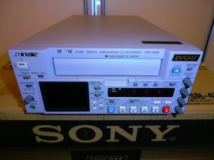 Профессиональный видеомагнитофон DVCAM, DV, Mini DV Sony DSR-45AP. Киев. фото 1