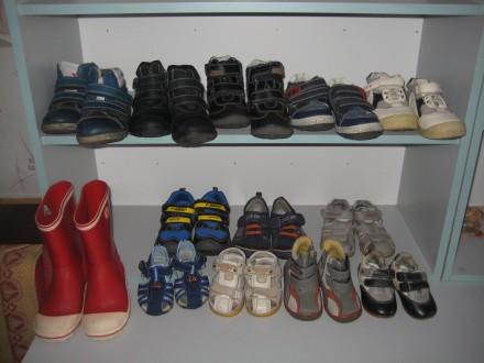 обувь на мальчика разных размеров(от 16 до 31)-13 пар. Кременчуг. фото 1