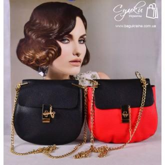 ec61c55f1798 Цвет - Красный+Черный, Черный, Красный Она представляет копию сумки Хлоя,  тольк