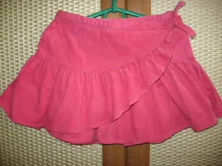 Продам вельветовую юбку на девочку 4-7 лет. Днепр. фото 1