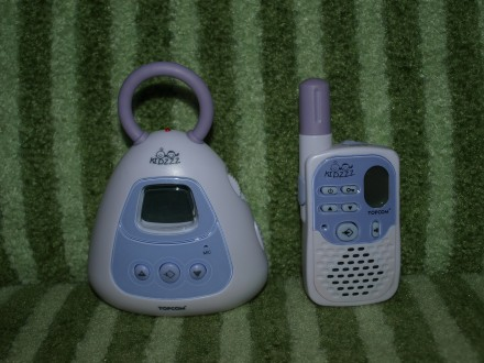 Радионяня Topcom 1010 Baby Talker Kidzzz до 2км!. Купянск. фото 1