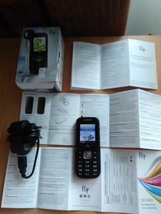 продам мобильный телефон флай на сим карты с документами.недорого.могу переслать. Чернигов. фото 1