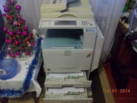 Продам полноцветную печатно-копировальную машину GESTETNER DSc424. Харьков. фото 1
