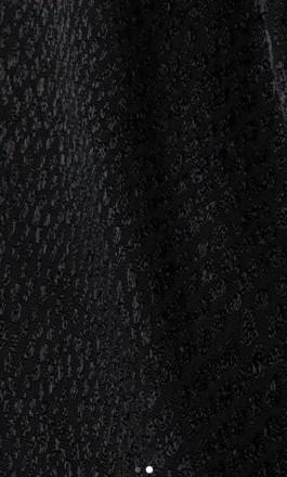 Чорна вечірня блузка на довгий рукав. V-подібний виріз, на запах та бічну зав'яз. Львов, Львовская область. фото 3