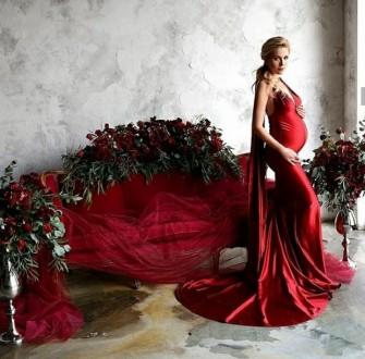 Вечернее платье-трансформер из плотного стрейч-атласа. Ткань не просвечивает, не. Запорожье, Запорожская область. фото 6