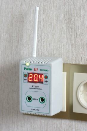 Терморегулятор цифровой РТ20-N1 розеточный предназначен для поддержания необходи. Харьков, Харьковская область. фото 3