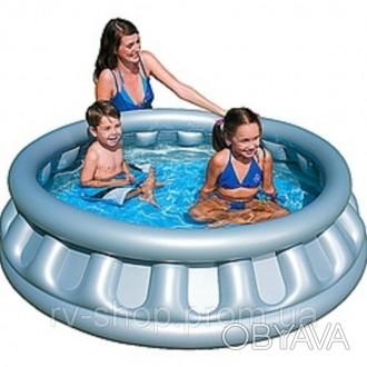 Лёгкий надувной бассейн быстро устанавливается на площадке. Наполните его, и ваш. Чернигов, Черниговская область. фото 1