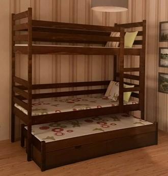 Ліжко букове. 160*200 см. Виготовляємо односпальні, двоспальні, дитячі, двоярус. Самбор, Львовская область. фото 8