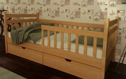 Ліжко букове. 160*200 см. Виготовляємо односпальні, двоспальні, дитячі, двоярус. Самбор, Львовская область. фото 7