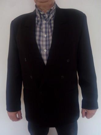 Продам пиджак мужской черный. Киев. фото 1