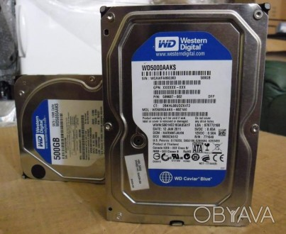 Жесткий диск на 500Gb - 250Gb - 160Gb WD BLUE Cупер состояние