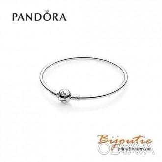 ᐈ Pandora браслет жесткий 590713 серебро 925 пандора оригинал ᐈ