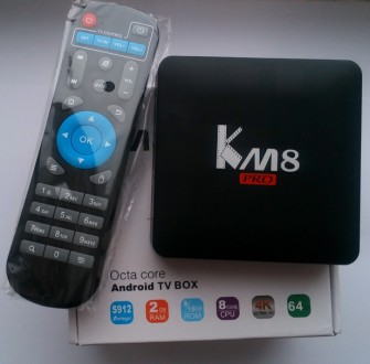 Tv Box Videostrong KM8 Pro (S912, 2/8 GB, bluetooth, Android 6). Киев. фото 1