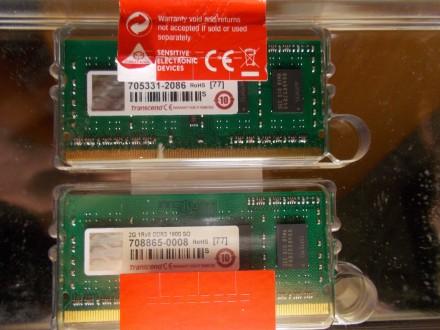 Цена дана за один модуль памяти. Две оперативные памяти для ноутбука Transcend 2. Северодонецк, Луганская область. фото 3