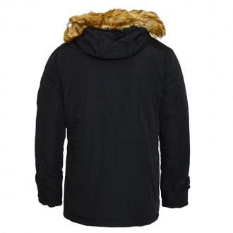 Продам куртку Poolman. Капюшон утеплен, мех на капюшоне отстегиваются. Спереди 4. Львов, Львовская область. фото 3
