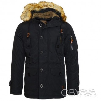 Продам куртку Poolman. Капюшон утеплен, мех на капюшоне отстегиваются. Спереди 4. Львов, Львовская область. фото 1